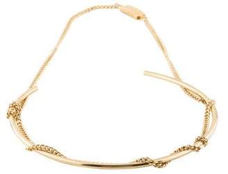 Maison Margiela Curb Chain Collar Necklace