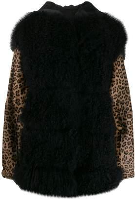 Simonetta Ravizza Molly shearling jacket
