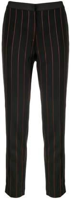 Pinko pinstripe skinny trousers
