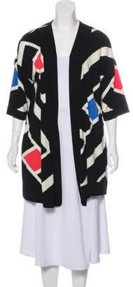 Diane von Furstenberg Wool Printed Cardigan