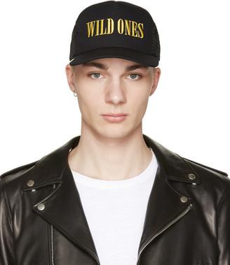 Amiri Black 'Wild Ones' Trucker Cap $275 thestylecure.com