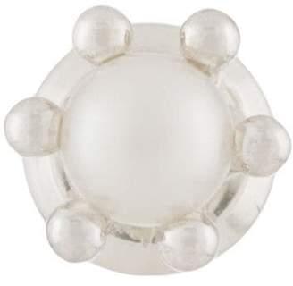 E.m. pearl embellished earring