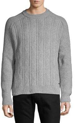 HUGO BOSS Chunky Crewneck Sweater