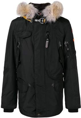 Parajumpers fur trimmed coat