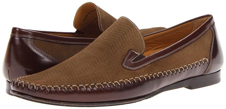Mezlan Pasquale (Brown/Olive) - Footwear
