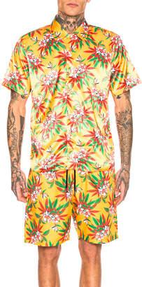 SSS World Corp Hawaiian Shirt in Yellow | FWRD