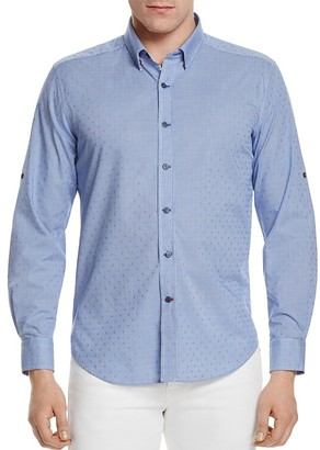 Robert Graham Carlos Classic Fit Button-Down Shirt $168 thestylecure.com