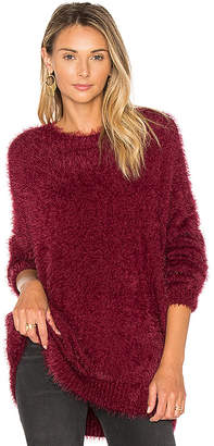 One Teaspoon Sugarloaf Sweater in Burgundy $149 thestylecure.com