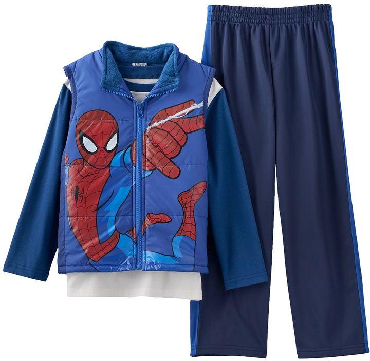 Spider-Man Vest & Pants Set - Boys 4-7