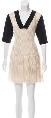 See by Chloe Eyelet A-Line Dress