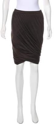 Lanvin Pleated Knee-Length Skirt w/ Tags