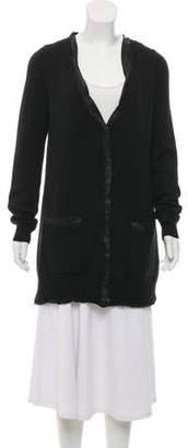 Burberry Virgin Wool Knit Cardigan
