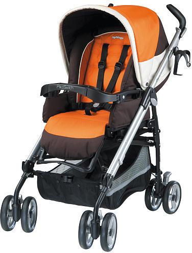 Peg Perego Pliko Switch Stroller - Tropical