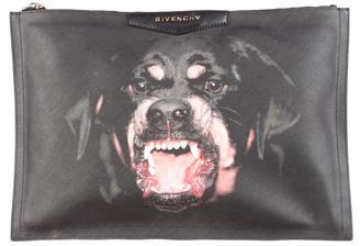 Givenchy Antigona Rottweiler Clutch $425 thestylecure.com