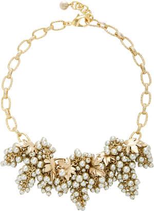 Lulu Frost Matira Statement Gold-Plated Brass Necklace