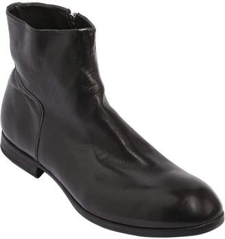 Preventi Zip-Up Leather Boots