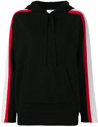 Allude hooded jumper