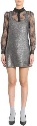 Moschino Metallic Boucle Dress