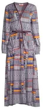 Lemlem Kente Empress Robe Dress