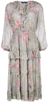 Polo Ralph Lauren floral print ruffled dress