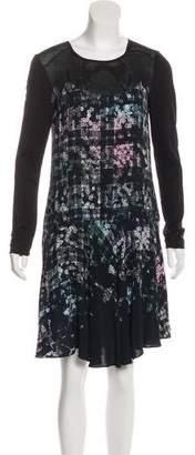 Tibi Batik Print Dress