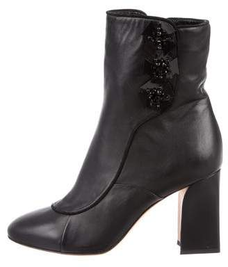 Zac Posen Mady Embellished Ankle Boots