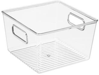 Mainstays Square Plastic Bath Bin, 8x8x5