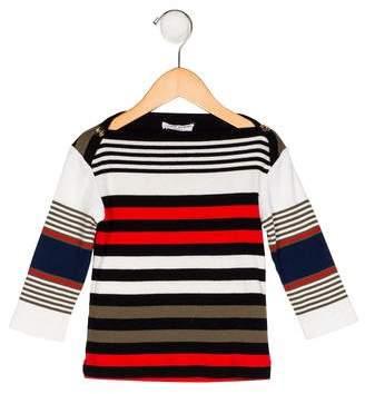 Sonia Rykiel Girls' Striped Bateau Top