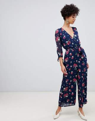 5ae6461ecaa Floral Cropped Jumpsuit - ShopStyle UK