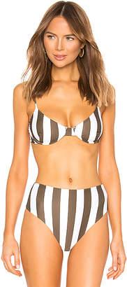 Mikoh Lima Bikini Top