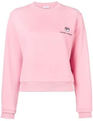 Chiara Ferragni Blinking Eye sweatshirt