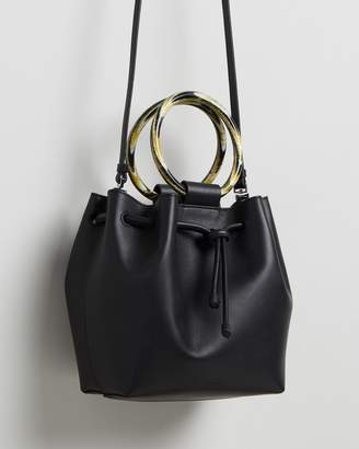 Theory Wax Cord Hoop Shoulder Bag