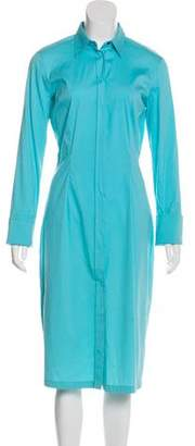 Dolce & Gabbana Collared Midi Shirtdress