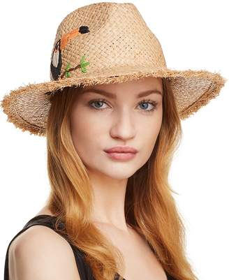 Echo Excursion Embroidered Panama Hat