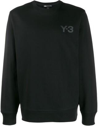 Y-3 logo sweater