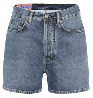 Acne Studios Blå Konst Swamp denim shorts