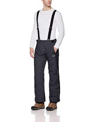 5Oaks Men's Basic Ski Snow Bib Pant with Adjustable Suspender XXL
