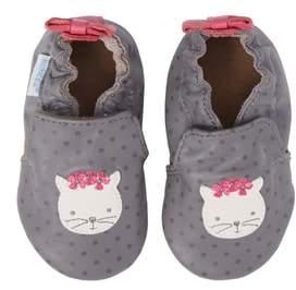 Robeez R) Miss Kitty Crib Shoe