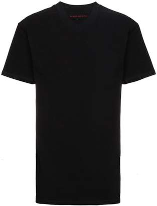 Y/Project Y / Project double collar logo t shirt