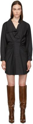Etoile Isabel Marant Grey Valentine Dress