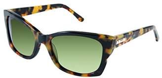 BCBGMAXAZRIA Women's Socialite Square Sunglasses