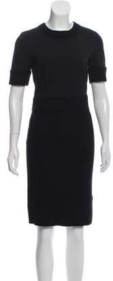 Dolce & Gabbana Rib Knit Wool Dress