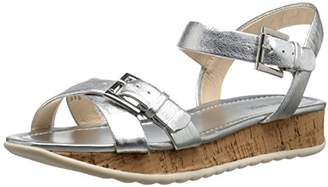 Nine West Women's Conference Metallic Dress Sandal