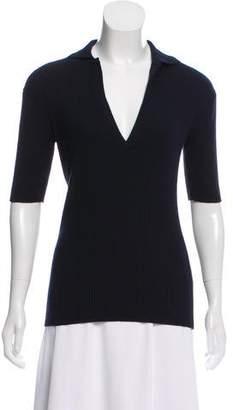 Protagonist Virgin Wool & Silk-Blend Top