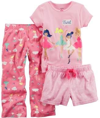 Carter's Baby Girl 3-pc. Ballerina Pajama Set