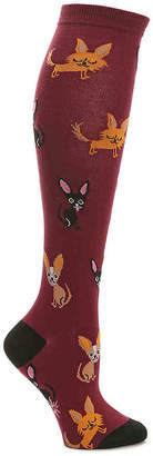 Sock It To Me Chihuahua Knee Socks - Women's