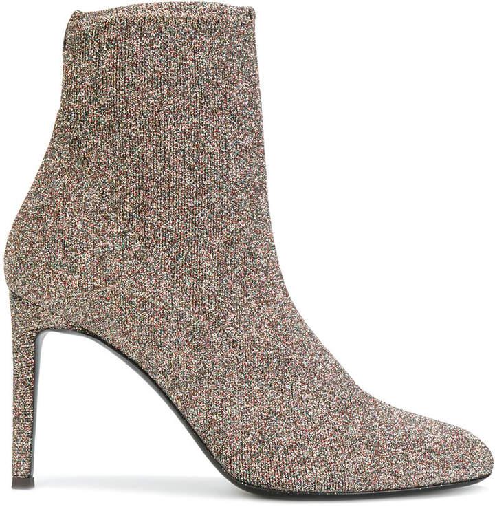 Giuseppe Zanotti Design Celeste glitter sock boots