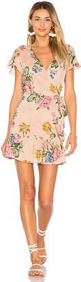 AUGUSTE x REVOLVE Havana Nights Frill Wrap Mini Dress