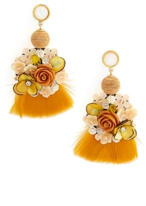Lizzie Fortunato French Marigold Drop Earrings