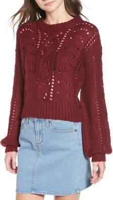 LIRA Carson Pointelle Sweater